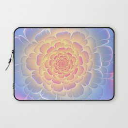 Romantic violet and yellow flower Laptop Sleeve