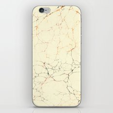 Marbled Cream iPhone & iPod Skin