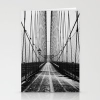 brooklyn Stationery Cards featuring Brooklyn  by Line Berre