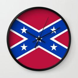Confederacy Naval Jack Wall Clock