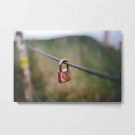 Love Lock // San Francisco, California Metal Print