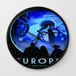 Vintage poster - Europa Wall Clock