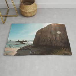 Seal Rock, Oregon Rug