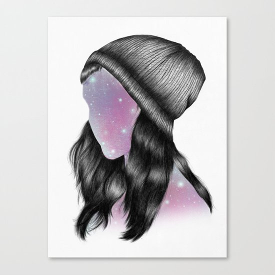 Fxxking Hipster Canvas Print