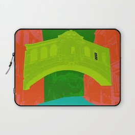Oxford University : Bridge of sighs Pop colour Laptop Sleeve