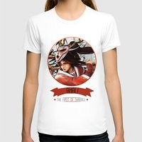league of legends T-shirts featuring League Of Legends - Akali by TheDrawingDuo
