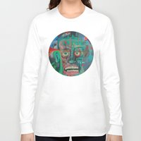james franco Long Sleeve T-shirts featuring James by Noah Zark