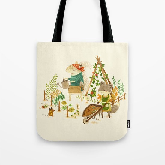 Critters: Summer Gardening Tote Bag
