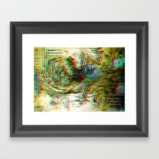 Analogical 3d Roots Framed Art Print