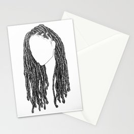 Hair Study 2 Stationery Cards