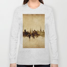 Newcastle England Skyline Long Sleeve T-shirt