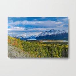 Matanuska_Glacier, Alaska - Autumn Metal Print