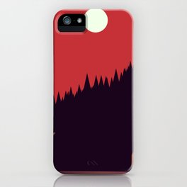 A Cabin in the Wood iPhone Case