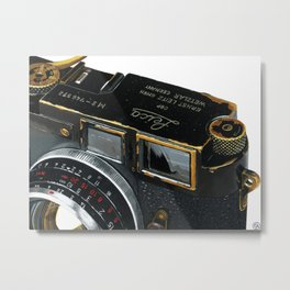 Leica Camera Metal Print