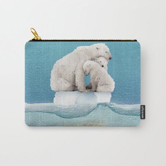 polar ice cream cap 02 Carry-All Pouch