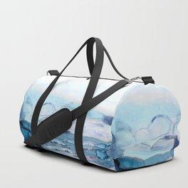 Indigo Abstract Painting | No.6 Duffle Bag