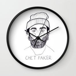 Chet Faker Wall Clock
