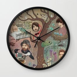 The King Of Limbs Wall Clock