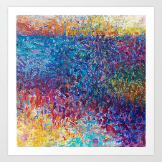 Vibrant Meadow Art Print