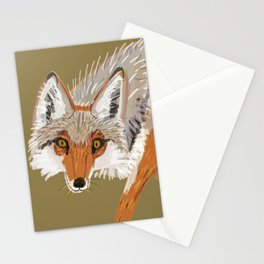 Totem Coyote Stationery Cards