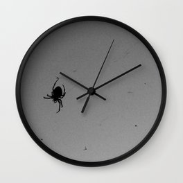 Mosquitos for dinner Wall Clock