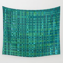 Hipster Plaid Wall Tapestry