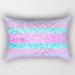Unicorn Girls Glitter #15 #shiny #decor #art #society6 Rectangular Pillow