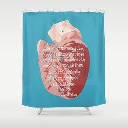 Weird Love Shower Curtain