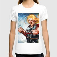 thor T-shirts featuring Thor by Boisson
