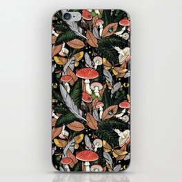 Nocturnal Forest iPhone Skin