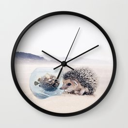 Unconditional Love II Wall Clock