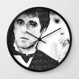 Say Hello To Montana Wall Clock