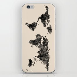 a painted world.  iPhone Skin