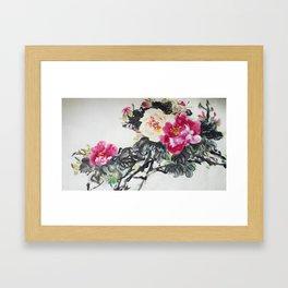 Chinese Peony Framed Art Print
