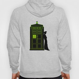 Tardis With The Tenth Doctor Hoody