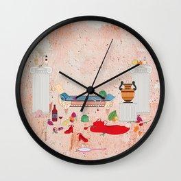 Aphrodite's Love Nest Wall Clock