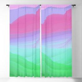 Gentle Pink Hills Blackout Curtain