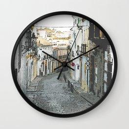 Old Street Corridor Wall Clock
