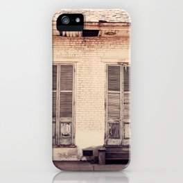Old Shutters iPhone Case