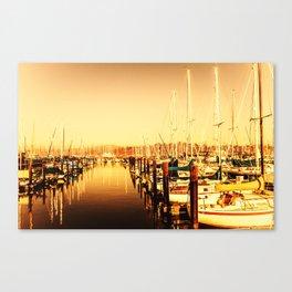 Sausalito Love Canvas Print