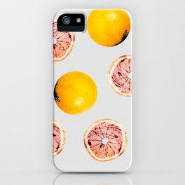 Grapefruit Pattern #society6 #decor #buyart iPhone Case