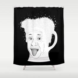 The Ein Stein Shower Curtain