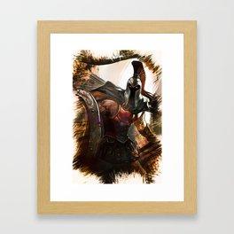 League of Legends PANTHEON Framed Art Print