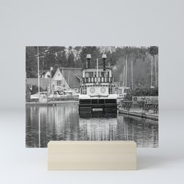 Southern Comfort Paddle Steamer on the River Bure, Horning Mini Art Print