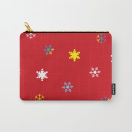 Snowflakes_B Carry-All Pouch