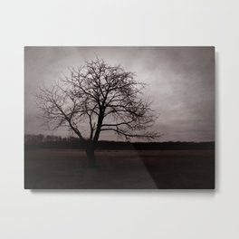 Alone Again, Naturally Metal Print