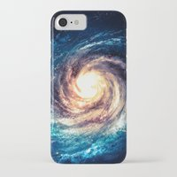 xbox iPhone & iPod Cases featuring Spiral Galaxy by Zavu