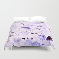 pastel Duvet Covers featuring Pastel by Mishu & Casco