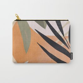 Abstract Art Tropical Leaves 2 Carry-All Pouch