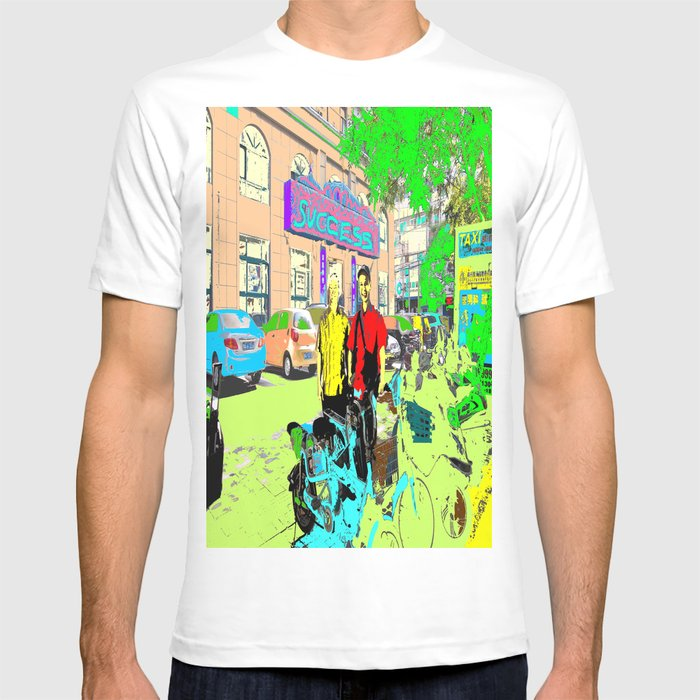 2 cyclists T-shirt